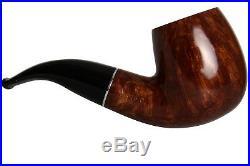 Savinelli La Corta 616 C Smooth Tobacco Pipe Bent Billiard