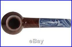 Savinelli Oceano 673 KS Smooth Tobacco Pipe Bent Bulldog