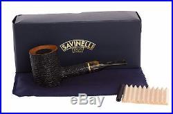 Savinelli Oscar Tiger 311 KS Tobacco Pipe Rustic