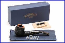 Savinelli Oscar Tiger Rustic Briar Pipe 626 Tobacco Pipe