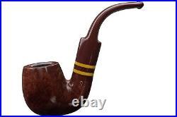 Savinelli Regimental Smooth Bordeaux 614 6MM Smoking Pipe 5258K