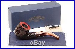 Savinelli Roma Rustic 622 KS Lucite Stem Tobacco Pipe