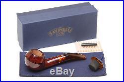 Savinelli Tortuga Smooth 673 KS Tobacco Pipe