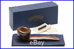 Savinelli Tundra Smooth 316 EX Tobacco Pipe