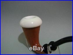 Sherlock Holmes Calabash Block Meerschaum Stone Bowl Tobacco Pipe Pipa Unused