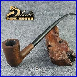 Smooth BRIAR wood TOBACCO LONG smoking pipe GONDOLIN LOTR Churchwarden