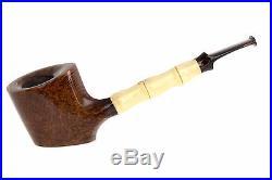 Steve Morrisette Pipes Bamboo Sitter Tobacco Pipe TP2655