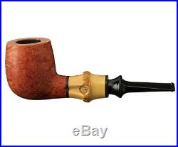 TSUGE Bamboo G9 Pipe Straight Smooth Smoking Pipe Tobacco 140mm 9mm Filter