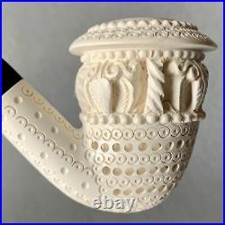 Topkapi Calabash Meerschaum Tobacco Pipe 1/2 Bend By Paykoc M23000