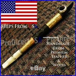 Traditional Iranian Wooden Medwakh Arabian UAE Dokha Tobacco Smoking Pipe USA