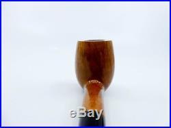 Tsuge Ikebana E Smooth Straight Dublin Briar Tobacco Pipe NEW IN LEATHER BAG