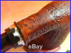 Unsmoked Montini(Mastro de Paja second) brown blast Italian tobacco pipe-NOS