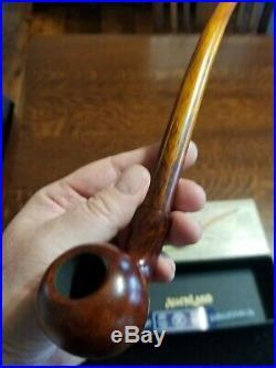Vauen Auenland Friddo Smooth Churchwarden Tobacco Pipe