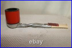 Vintage Falcon Smoking Pipe, twisted stem FD19, England New Old Stock