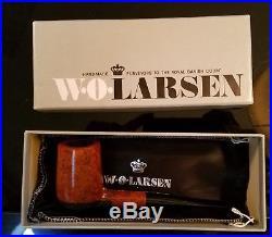 Vintage W. O. Larsen Smoking Pipe NewithUnused in Original Box, Hand Made Dutch