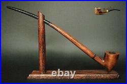 WOODEN TOBACCO SMOKING PIPE Lotr Gandalf Hobbit 83 CHURCHWARDEN LONG 14