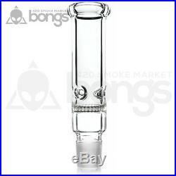 Water Smoking Pipe 3 chambers Glass Bong 19 Honeycomb Disc Percolator Herb Bowl