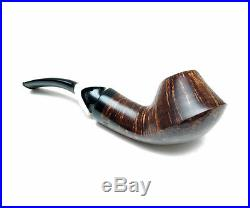 Wooden Tobacco Smoking Pipes Cigarettes Carved (Straight grain Volcano) Express